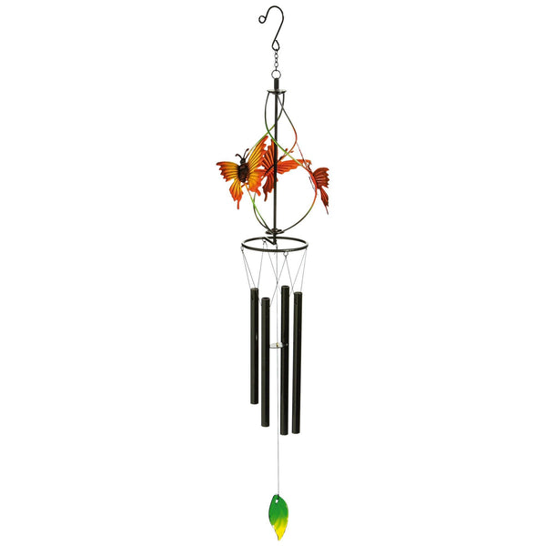Twirling Butterfly Wind Chime