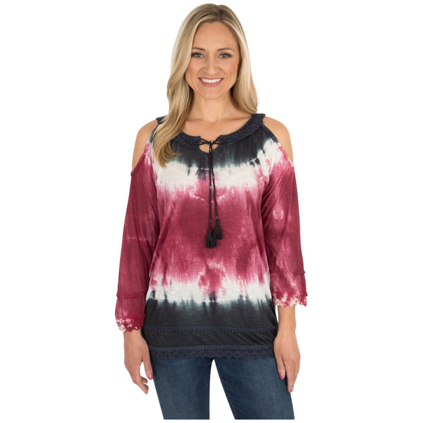Untamed Spirit Open Shoulder Top