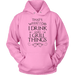 T-shirt - I Drink And I Grill Things Hooded Sweatshirt