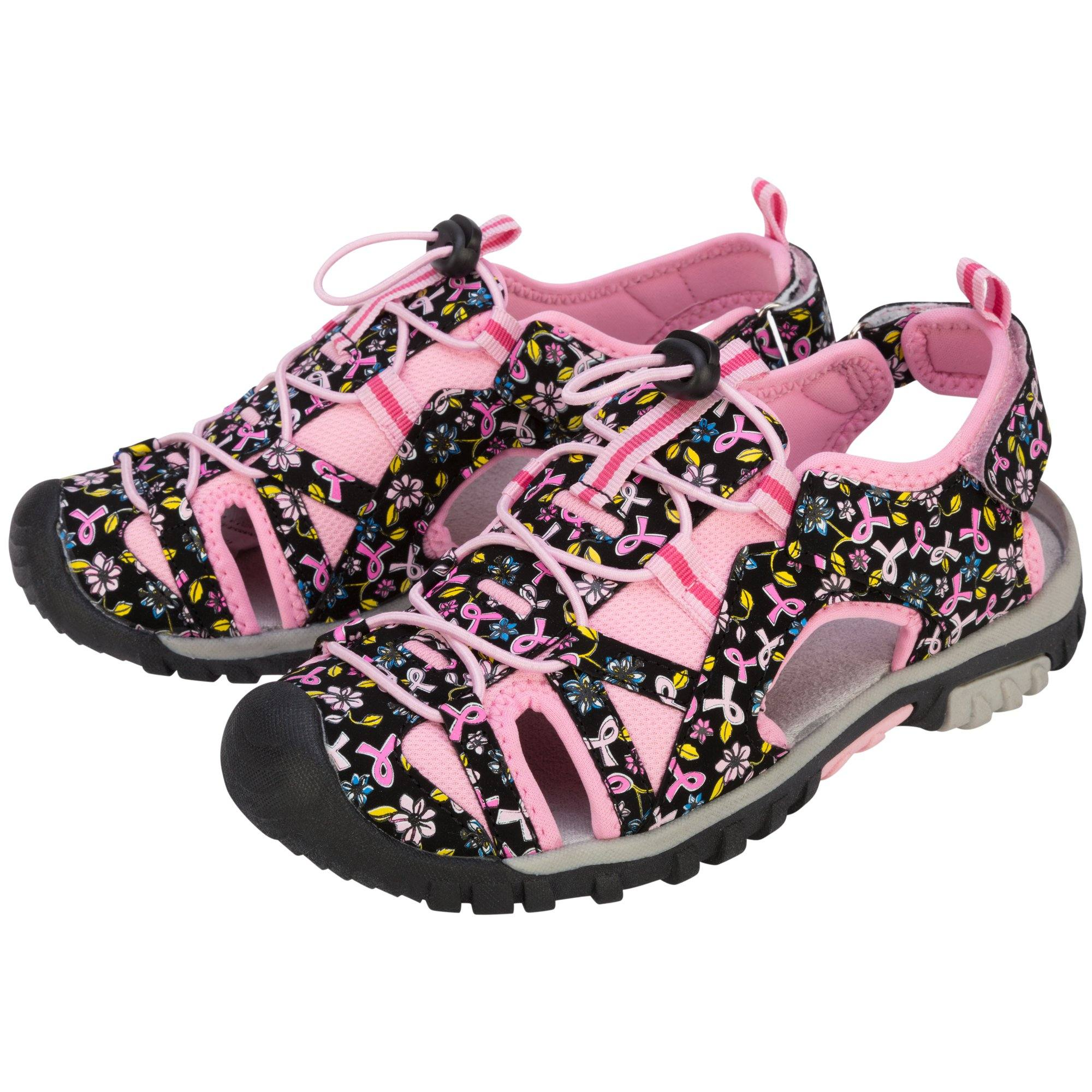 Walk in Pink Sport Sandals | The Breast