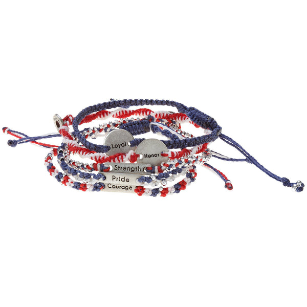 What Makes A Hero Wakami Bracelets - Set Of 5
