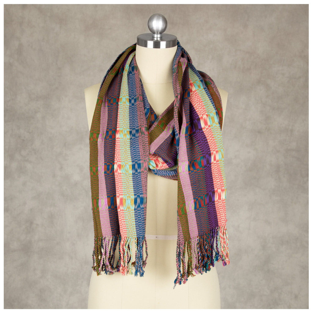 Wild Colors Woven Scarf