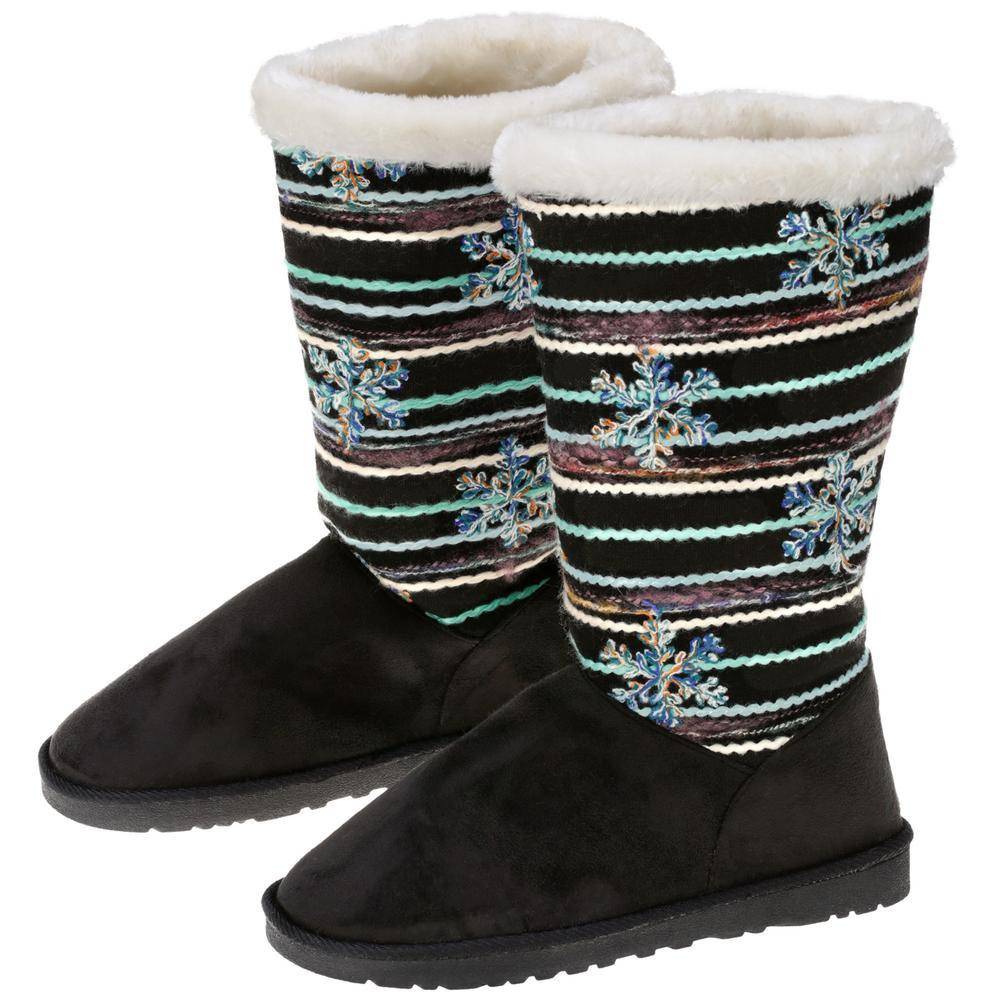 Winter Wonderland Snowflake Boots