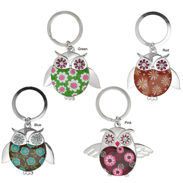 Wise In Love Owl Keychain