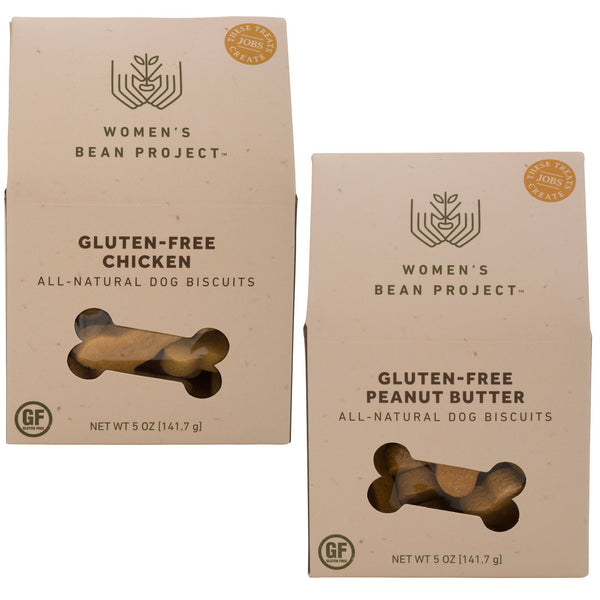 Women's Bean Project Gluten Free Dog Biscuits