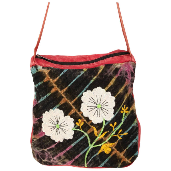 Woodland Flowers Crossbody Bag