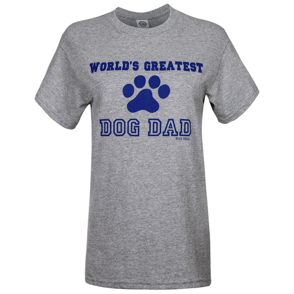 World's Greatest Dog Dad T-Shirt