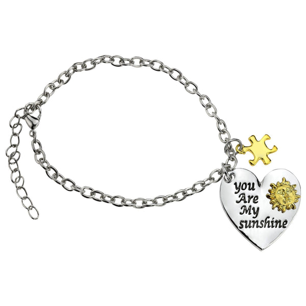You Are My Sunshine Autism Awareness Bracelet
