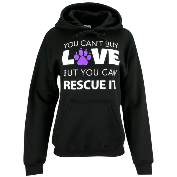 You Can't Buy Love Hooded Sweatshirt