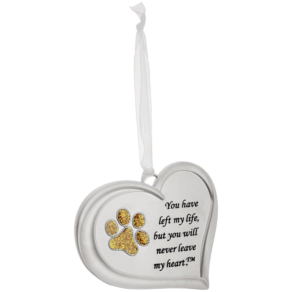 You Will Never Leave My Heart™ Paw Ornament