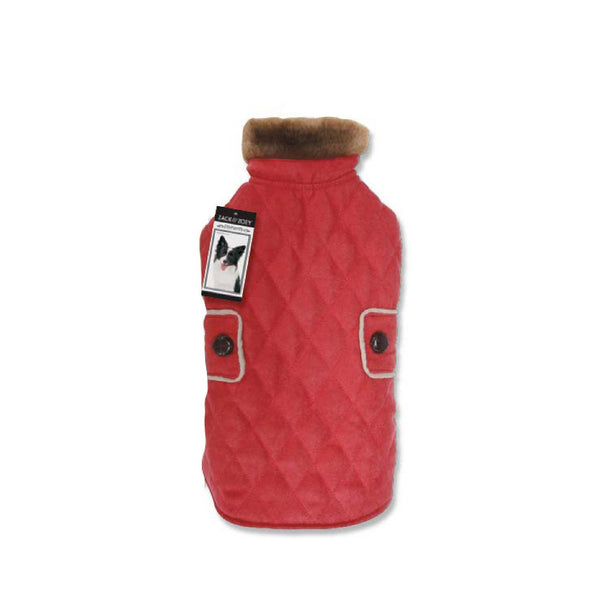 Zack & Zoey® Derby Quilted Dog Coat