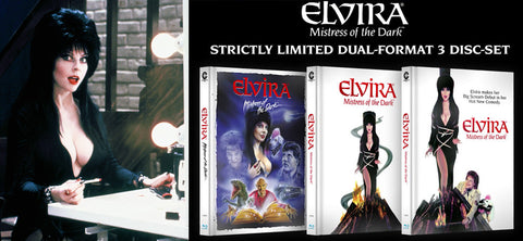 Blu-ray Release for 'Elvira, Mistress of the Dark' (1988)