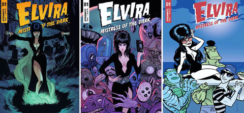 Elvira Returns To The World Of Comics With An All New Series!