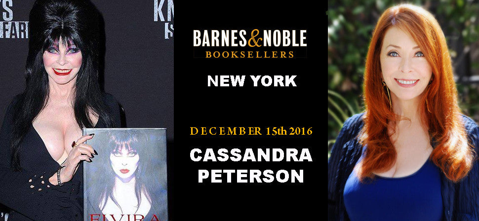 Cassandra Peterson New York Book Signing at Barnes & Noble