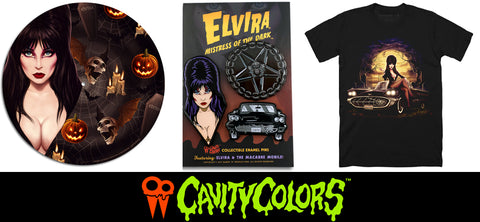 New ELVIRA Exclusives from Cavity Colors!