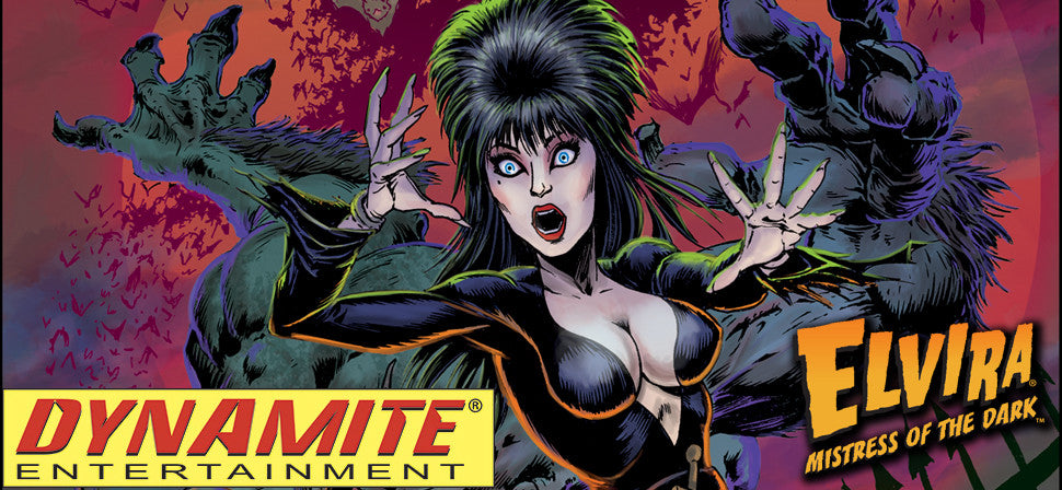 Elvira, Mistress Of The Dark Teams With Dynamite For New Comics And More!