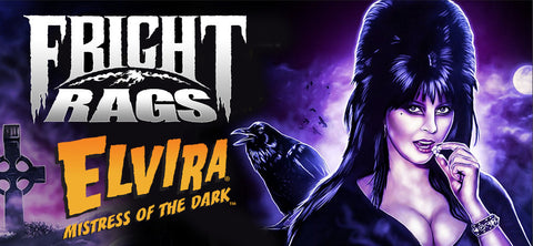 New Elvira, Mistress of the Dark T-Shirt Designs From Fright Rags!