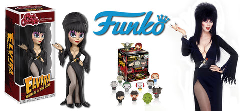 Coming Soon From Funko: Elvira Rock Candy & Pint-Size Horror Heroes!