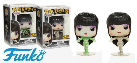 Hot Topic Stores Exclusive! Elvira 'Mummy' Funko Pop! TV Vinyl Figure