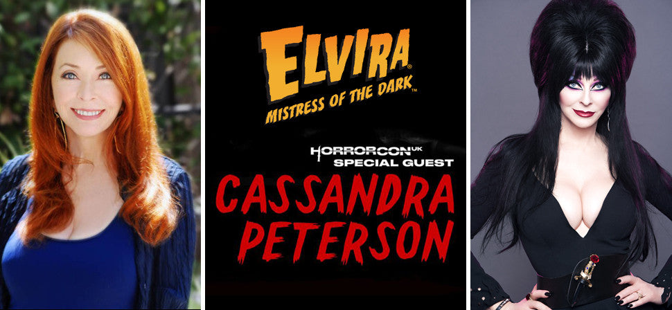 "Cassandra ""Elvira"" Peterson Appearing At Horror Con UK"