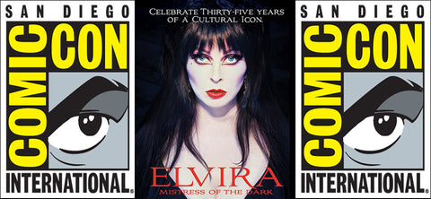 Elvira at San Diego Comic Con July 23rd, 2016