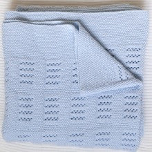 Heirloom Knit - Cotton Receiving Blanket