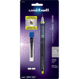 Uni-Ball Kuru Toga 0.7mm HB #2 Mechanical Pencil, Nano Dia  Blended Lead Refills, Eraser Refills  Uni-Ball Pencils