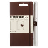 Leuchtturm1917 Pen Loop Chocolate Leuchtturm1917 Pen Loop