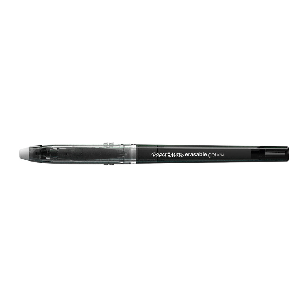 Paper Mate Erasable Gel Ink Pen, Black Medium  Paper Mate Erasable Pen