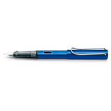 Lamy Al Star Ocean Blue Fountain Pen Medium + 5 Neon Lime Cartridges  Lamy Fountain Pens