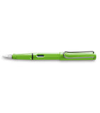 Lamy Safari Shiny Green Fountain Pen Fine - PensAndPencils.Net