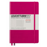 Leuchtturm1917 2018 18 Month Weekly Planner and Notebook A5 Medium Berry  Leuchtturm1917 Planner