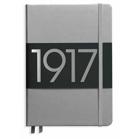 Leuchtturm 1917 Dotted Notebook A5 Medium Silver 100 Year Anniversary Edition
