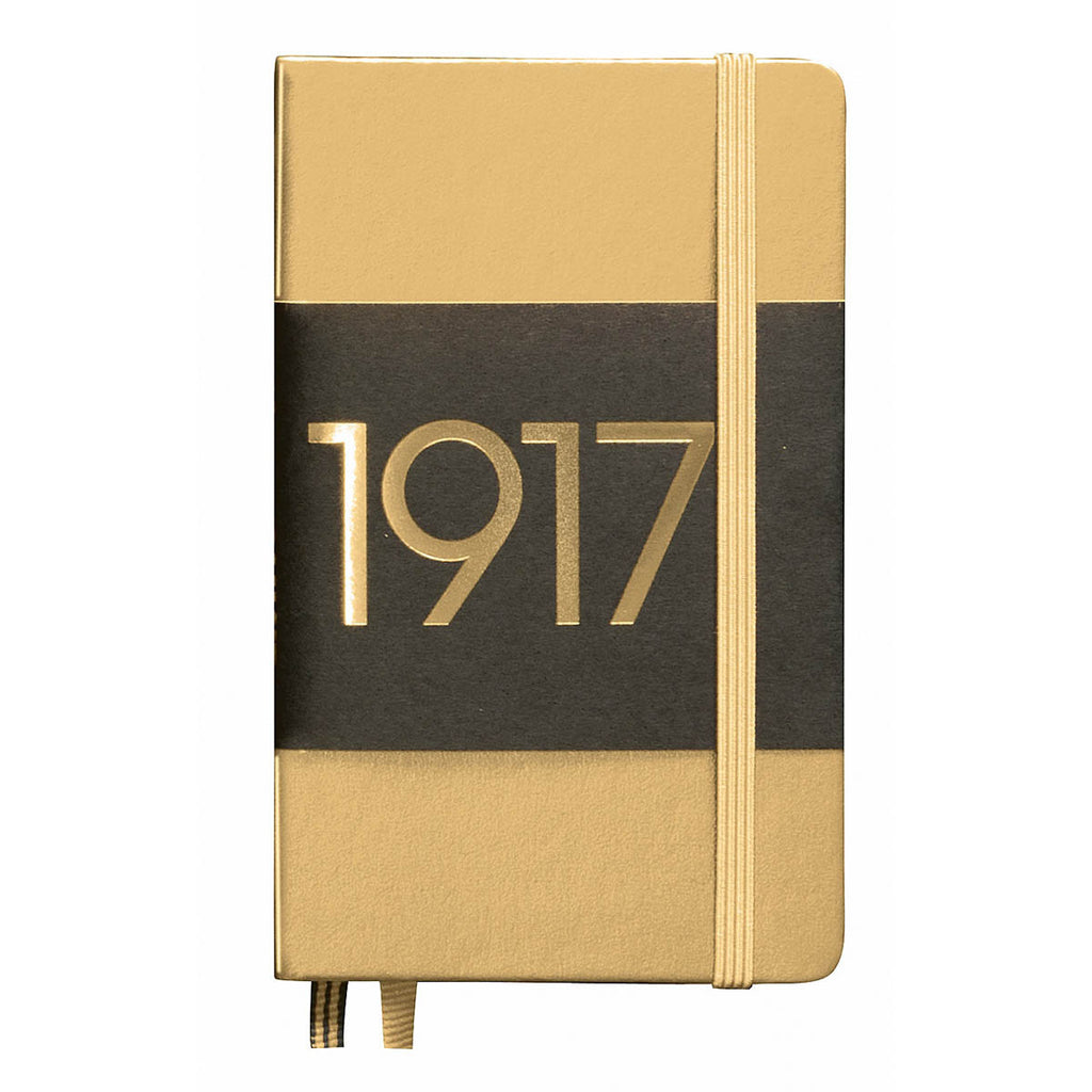Leuchtturm 1917 Dotted Notebook Pocket Gold Anniversary Edition