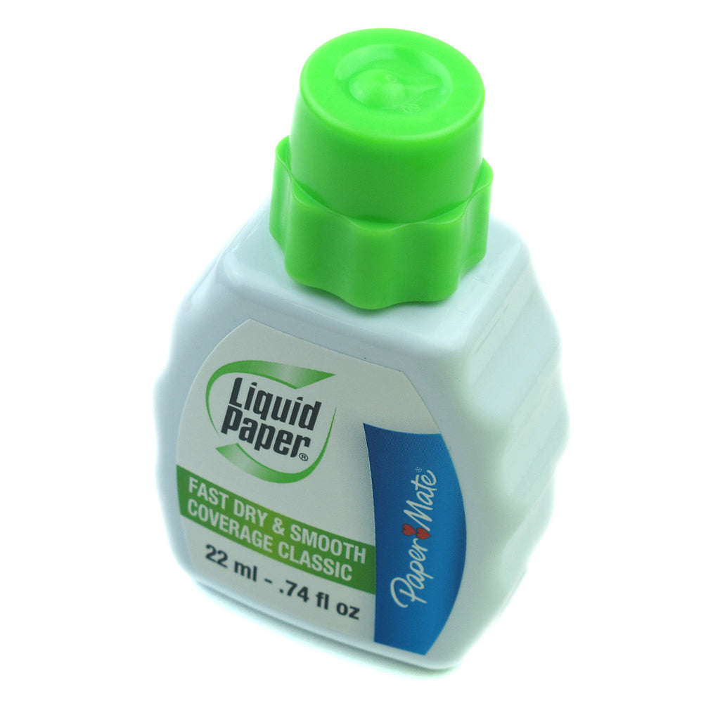 Paper Mate Liquid Paper Fast Dry, Smooth Coverage Classic White Out 22 ml