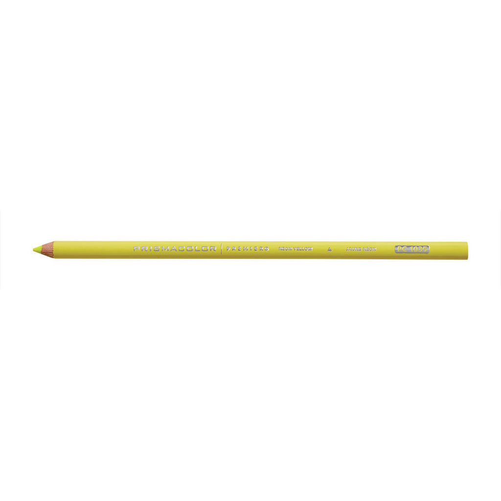 Prismacolor Premier Soft Core Colored Pencil, Neon Yellow PC 1035