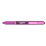 Paper Mate Inkjoy Gel Pen Fine 0.5 Wild Berry, Stick Capped Gel Pen  Paper Mate Gel Ink Pens