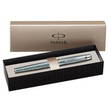 Parker IM Premium Emerald Pearl CT Fountain Pen Medium