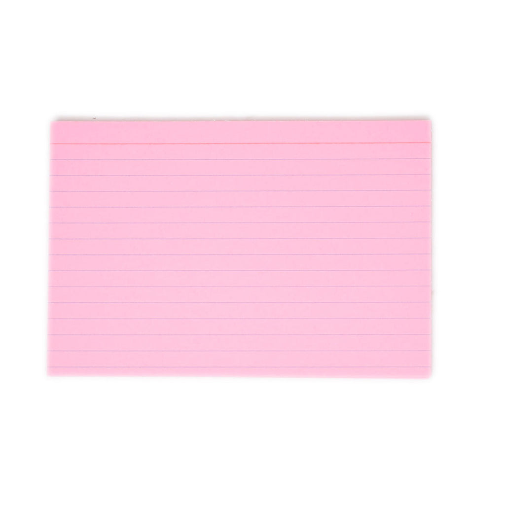 Pink Index Cards 4 x 6  Ruled Pack of 25  Colored Index Cards Index Cards