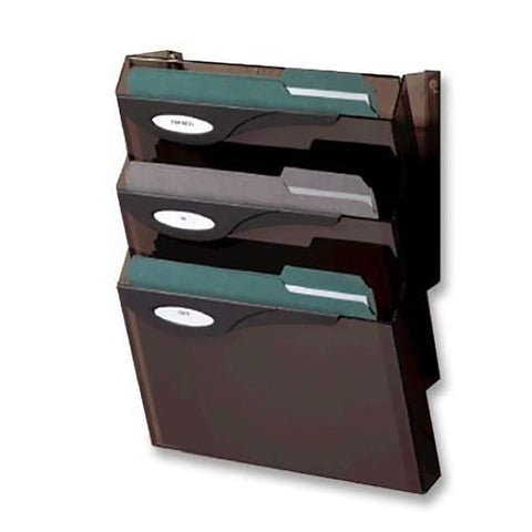 Rubbermaid Hanging Wall File Organizer 4 Pocket