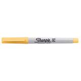 Sharpie 80s Glam Banana Clip Yellow Ultra Fine Point Permanent Marker, Limited Edition  Sharpie Markers