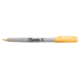 Sharpie 80s Glam Banana Clip Yellow Ultra Fine Point Permanent Marker, Limited Edition