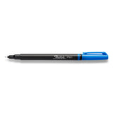Sharpie Pen Blue Fine, Non Bleeding,  Archival-quality  Sharpie Felt Tip Pen