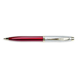 Sheaffer 100 Collection Pencil .7mm Red and Brushed Stainless Steel  Sheaffer Pencils