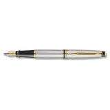 Waterman Expert Stainless Steel GT Fine Fountain Pen  Waterman Fountain Pens