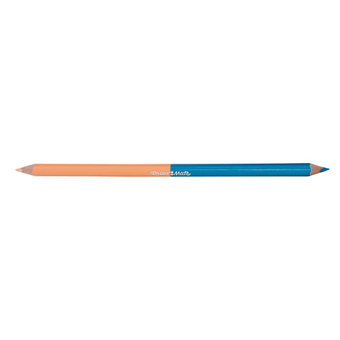 Paper Mate Blush and Light Blue Colored Pencil Dual Ended  Paper Mate Pencils