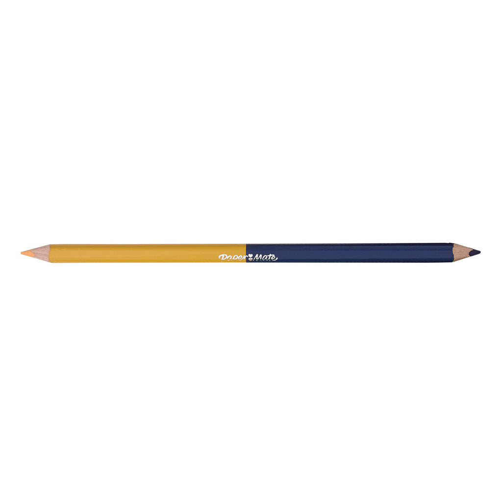 Paper Mate Light Ochre and Cobalt Blue Colored Pencil Dual Ended  Paper Mate Pencils