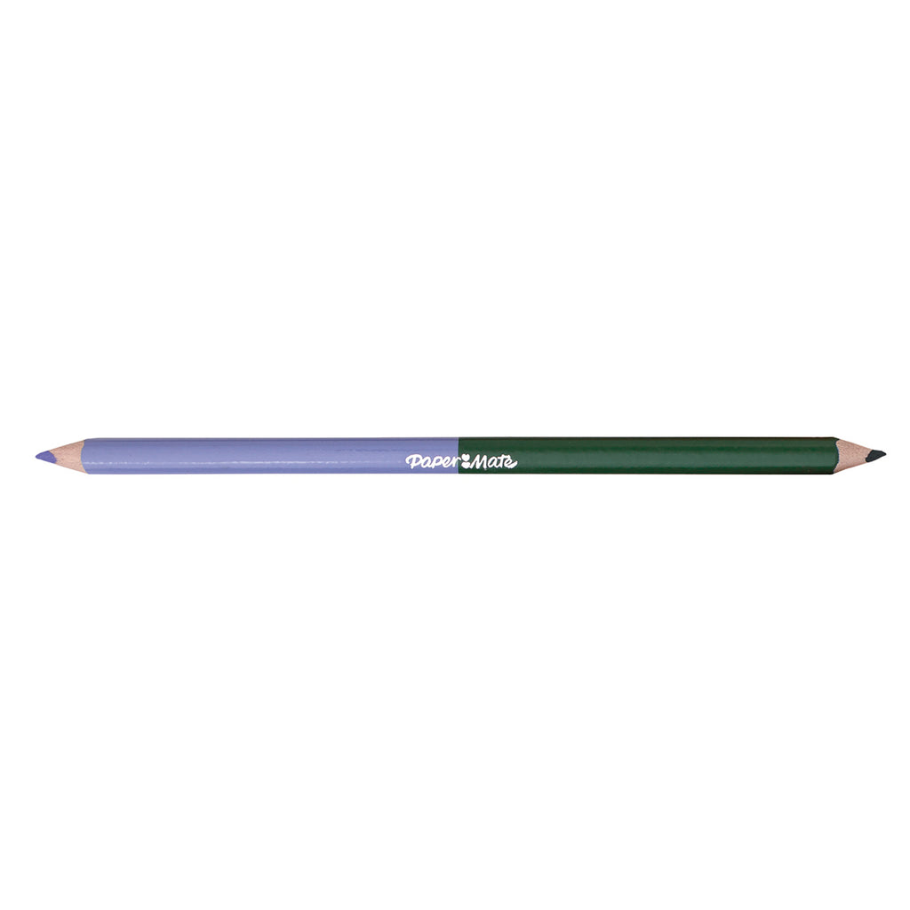 Paper Mate Lilac and Emerald Colored Pencil Dual Ended  Paper Mate Pencils