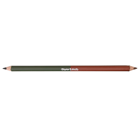 Paper Mate Moss Green and Burnt Sienna Colored Pencil Dual Ended  Paper Mate Pencils