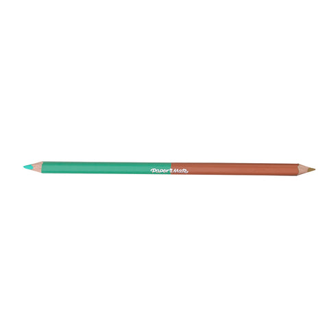 Paper Mate Jade and Burnt Ochre Colored Pencil Dual Ended